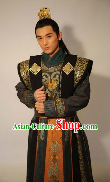 Chinese Tang Dynasty Prince Men Clothes