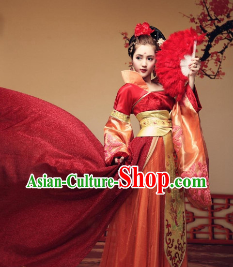 Traditional Chinese Emperss Oriental Clothing Free Shipping