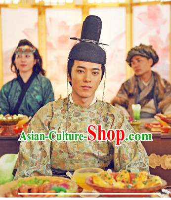 Chinese Traditional Tang Dynasty Hat for Men