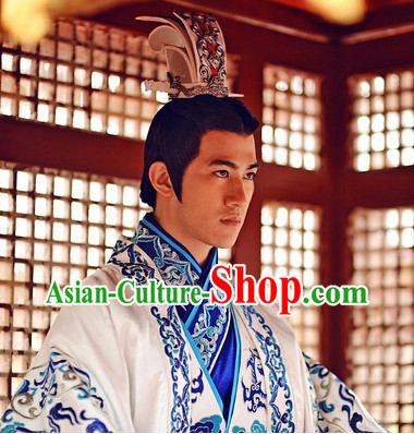 Handmade Chinese Traditional Emperor Hat