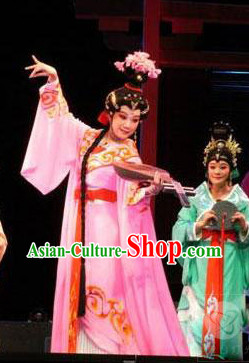 Wang Zhaojun Stage Costume and Headpiece Complete Set