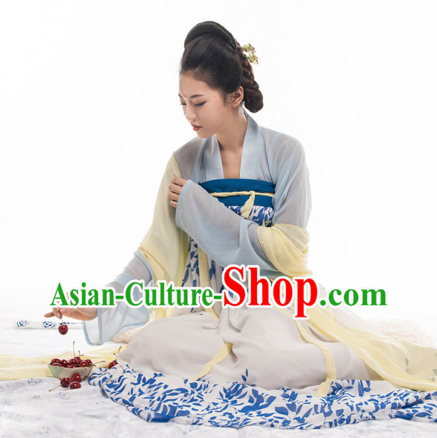 Tang Dynasty Oriental Hanfu Dress for Women