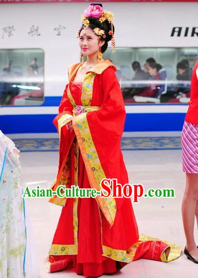 Chinese Empress Clothing Asian Fashion Hanfu Dress online