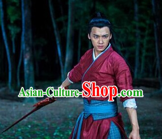 Chinese Swordman Knight Clothes for Men
