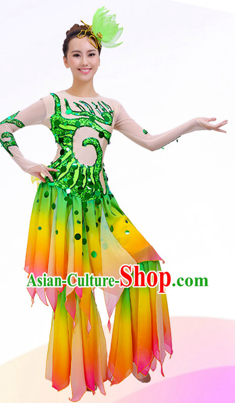 Classical Chinese Dance Costumes for Competition