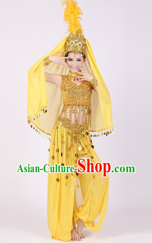 Chinese Xinjiang Dance Dress for Women