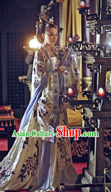 Chinese Empress Costumes Wig and Headpieces