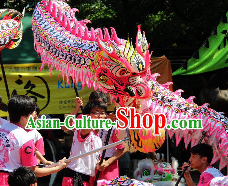 Top Competition and Parade Luminous Dragon Dancing Costume Complete Set