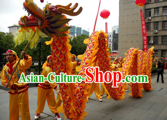 Chinese New Year Adult Dragon Dance Costume Complete Set