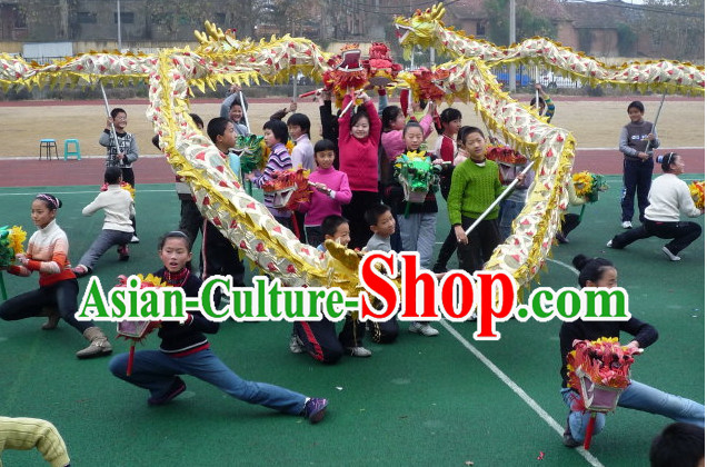 16 Meters School Use Lightweight Dragon Dance Equipment for 10 Teenagers