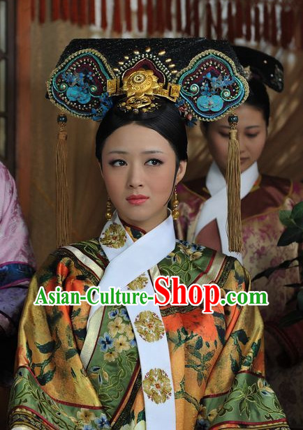 Chinese Qing Dynasty Hair Jewelry Set