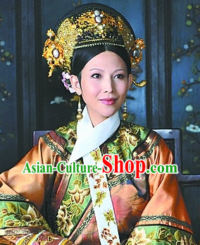 Chinese Qing Dynasty Empress Phoenix Hat
