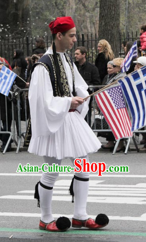 Traditional Greek Tsolias Costumes for Men