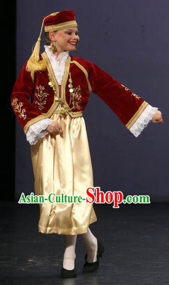 Greek National Costume Lyrical Dance Costumes