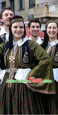 Greek National Costumes for Women