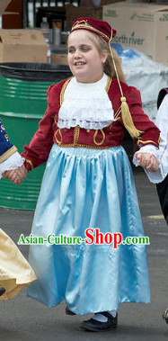 Greek National Costumes for Kids and Teenagers
