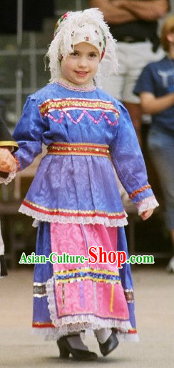 Traditional Greek Kids Costume