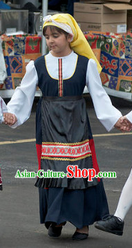 Traditional Greek Girls Clothing