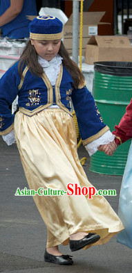 Greek National Costumes for Girls