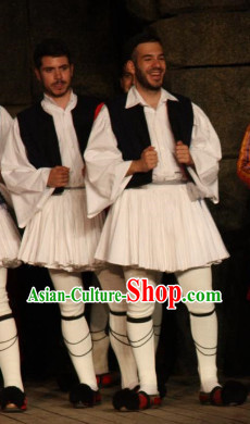 Traditional Greek Dance Costumes for Men