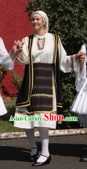 Traditional Greek Costumes for Women