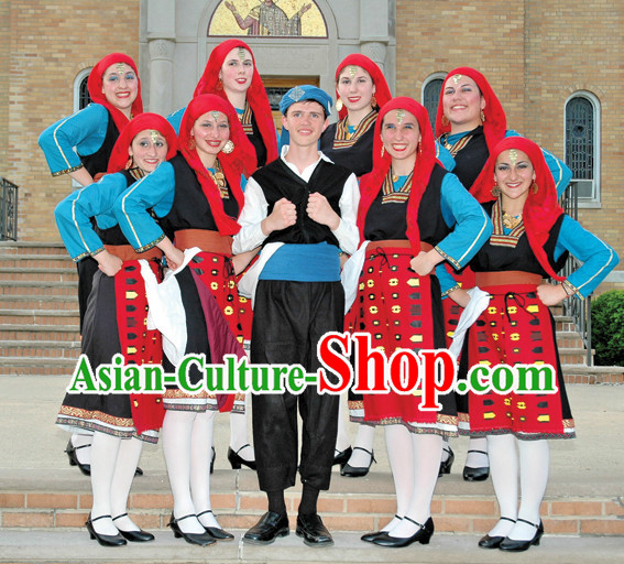 Greek Dancing Costumes for Girls