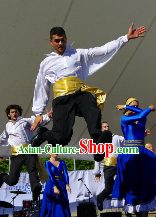 Greek Dancing Costume for Men