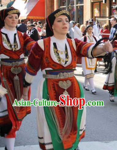 Womens Greek Dance Costumes