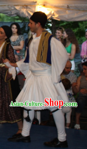 Traditonal Greek Clothing Complete Set for Boys