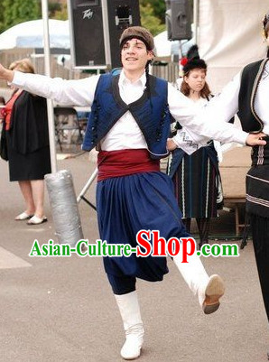 Traditonal Greek Dress Complete Set for Boys