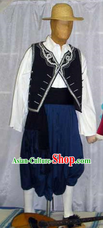 Traditional Mens Greek Clothing Complete Set