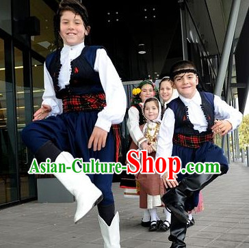 Classical Kids Greek Clothes Complete Set