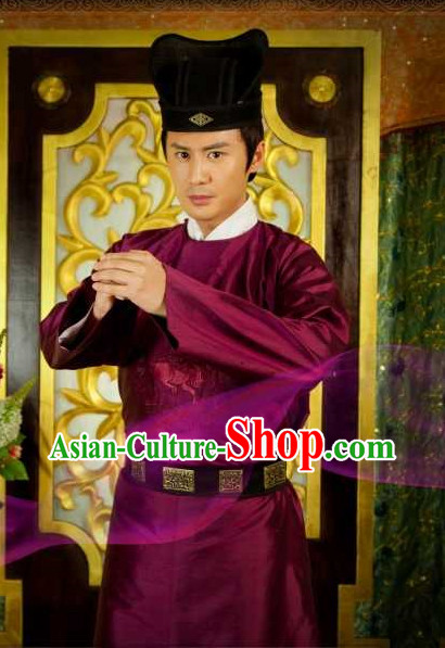 Chinese Ancient Dress up Costumes for Men