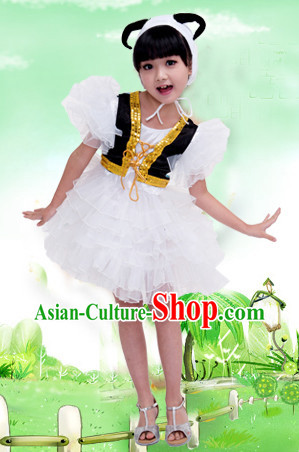 Chinese Spring Festival Celebration Sheep Dance Costumes for Students