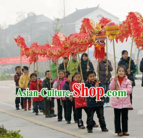 Traditional Dragon Dance Equipment Complete Set for Kids