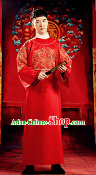 Chinese Wedding Costumes for Men