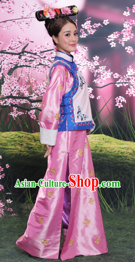 Chinese Princess Peach Costume for Women