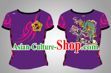 Chinese Dragon and Lion Dancer Dresses
