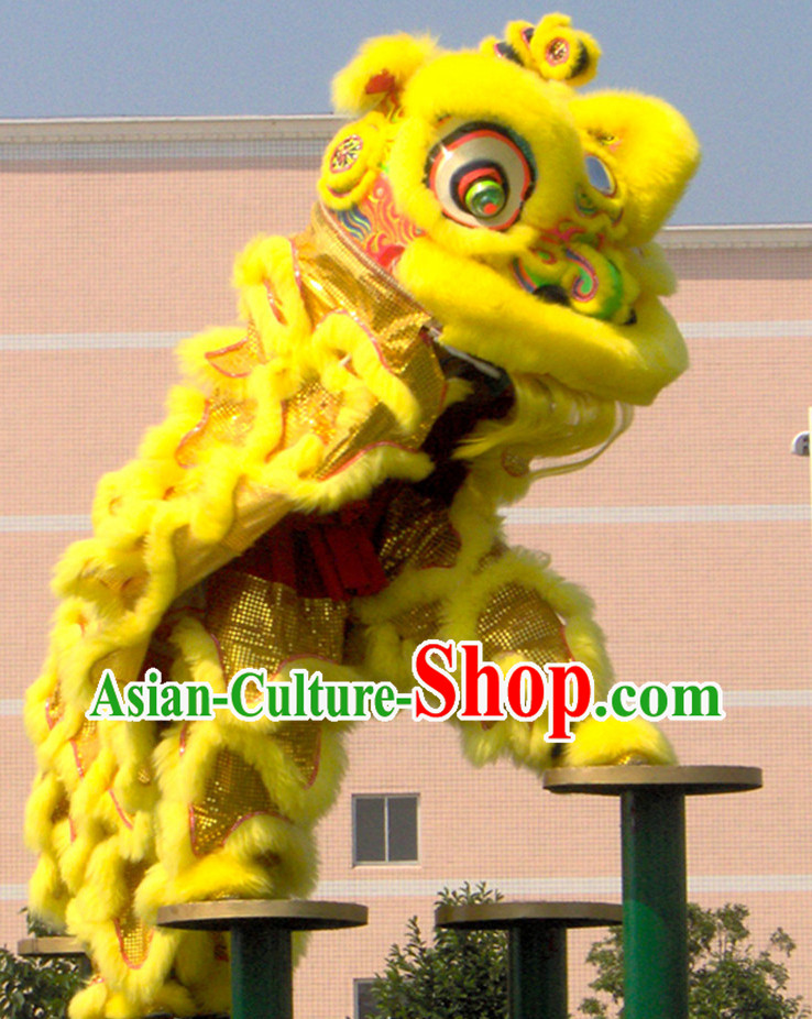 Top Chinese Lion Dancing Costumes Complete Set