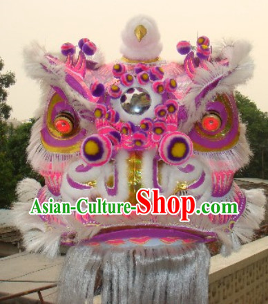 Top Dragon Horn Chinese Lion Costume