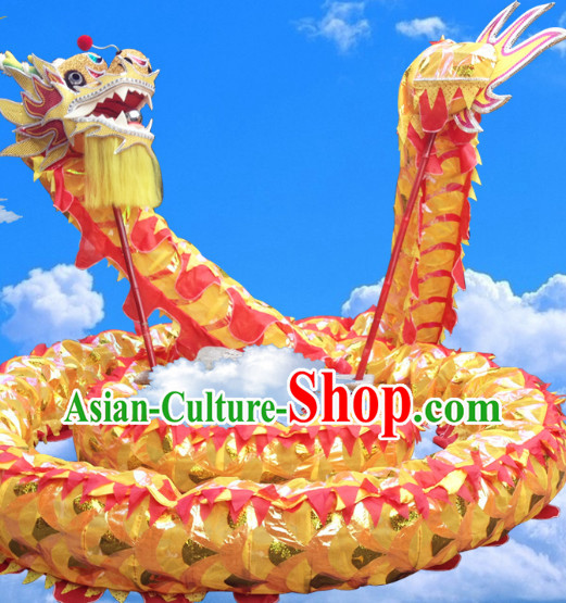 Chinese Spring Festival Dragon Dance Equipments Complete Set