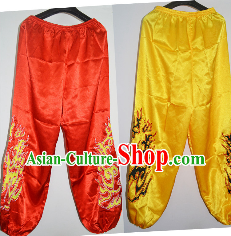 Professional Silk Lion Dance Pants