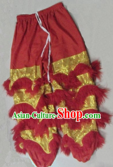 Professional Silk and Wool Lion Pants