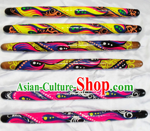 Professional Hands Painted Drum Sticks
