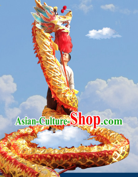 Chinese New Year Dragon Mascot Costumes Complete Set