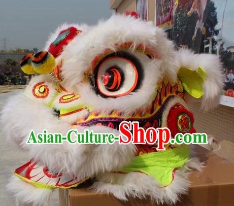 Chinese Lion Dancing Mascot Costumes Complete Set