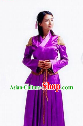 China Ancient Knight Female Costumes