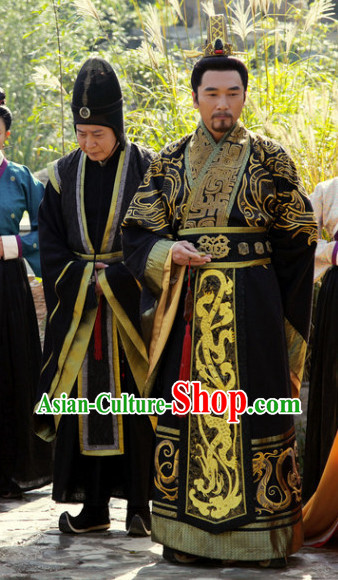 Chinese Traditional Emperor Long Robe