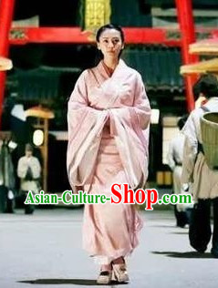 China Pink Hanfu Clothes for Women