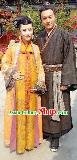 Guo Jing and Huang Rong Asian Costumes 2 Sets